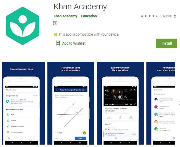 khan-academy-e-learning-app