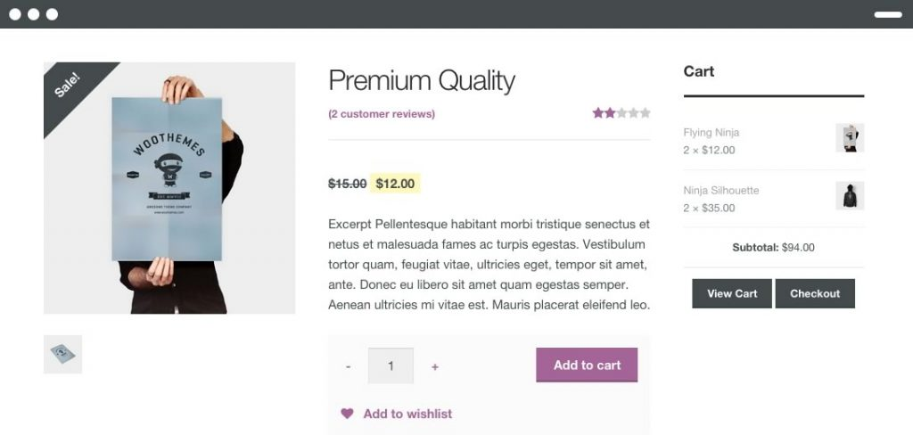 typical-woocommerce-product-page
