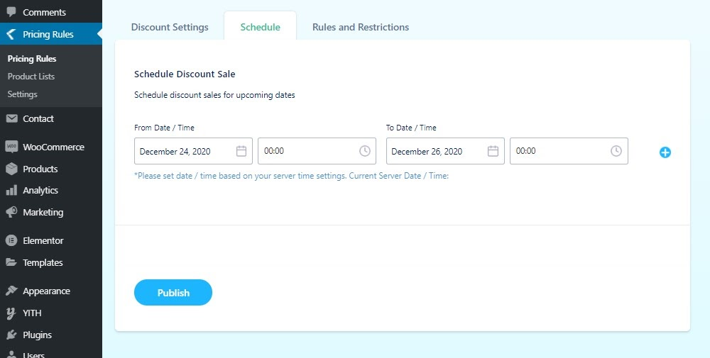 scheduling-discounts